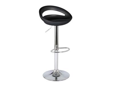 Барный стул Диско WX-2001 пластик чёрный