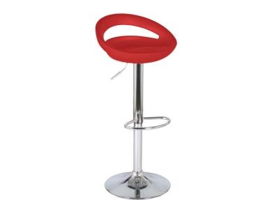 Барный стул Диско WX-2001 пластик красный
