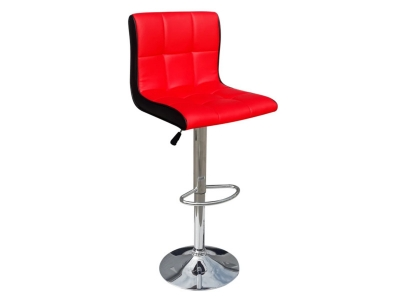 Барный стул Лого LM-5006 красно-черный