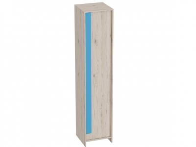 Шкаф 1-дверный Скаут 418х420х1990 Матовый индиго