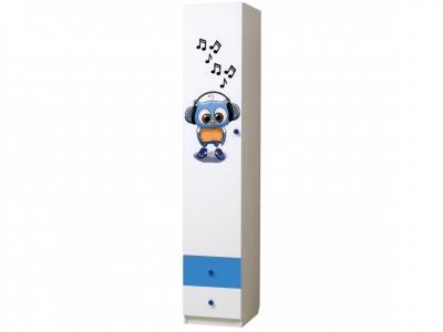 Шкаф 1-но дверный с ящиками Совята 1.3