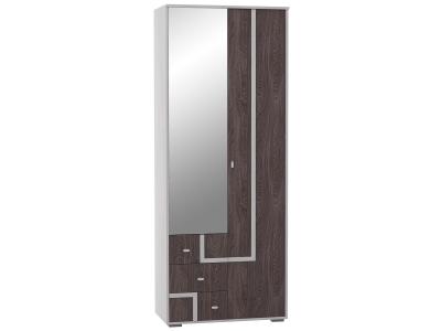Шкаф 2-х дверный для одежды и белья Омега 16