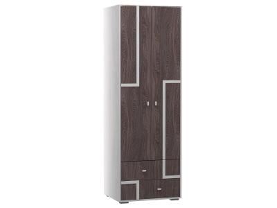Шкаф 2-х дверный для одежды Омега 16