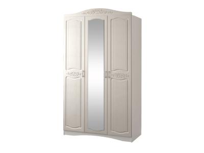 Шкаф 3-х дверный с зеркалом Виола-2 2313x1350x574мм