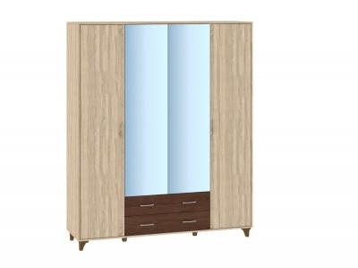 Шкаф 4 дверный Келли 1833x519х2216