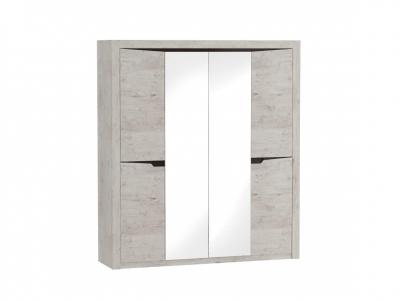 Шкаф 4 дверный Соренто 1965х545х2200 Дуб бонифаций