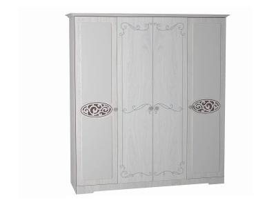 Шкаф 4-х дверный для одежды и белья Ольга 12 ЛДСП