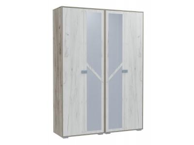 Шкаф 4-х дверный для одежды и белья Ольга 17