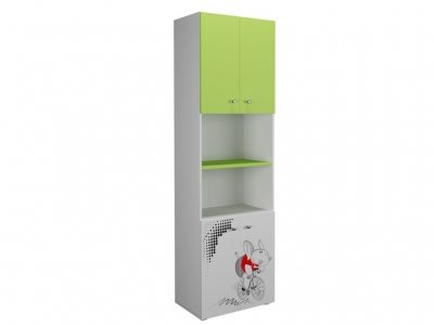 Шкаф 600 4Д Симба лайм