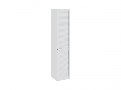 Шкаф для белья с 1 дверью правый Ривьера СМ 241.21.001 R Белый