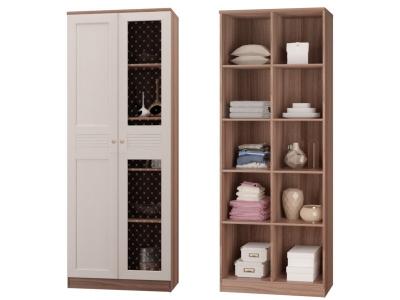 Шкаф для книг с 2-мя дверками Лестер