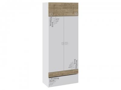 Шкаф для одежды Оксфорд ТД-139.07.22 Ривьера, Белый с рисунком