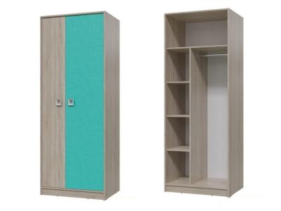 Шкаф для одежды Сити Аква 6-9411