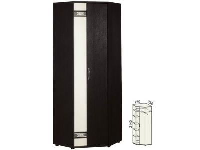 Шкаф для одежды угловой универсальный Триумф 36.02 750х750х2140 мм.