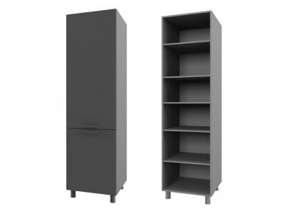 Шкаф для встраиваемой техники 600х2140х566 6П3 БТС МДФ