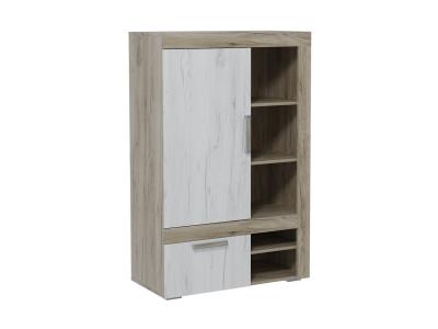 Шкаф комбинированный низкий Ольга 19