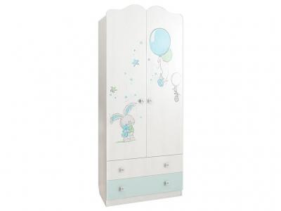 Шкаф комбинированный с ящиком 2-створчатый Бонни