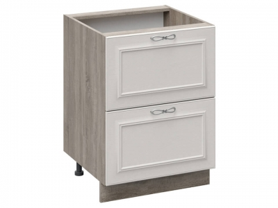 Шкаф напольный с 2 ящиками Н2Я_72-60_2Я Сабрина