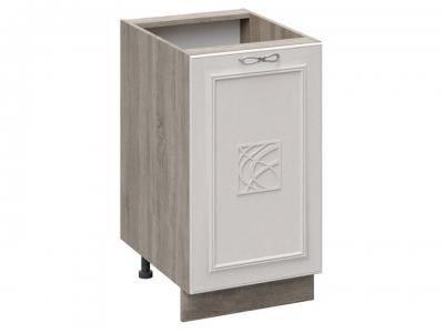 Шкаф напольный с декором Н_72-45_1ДР(Д) Сабрина