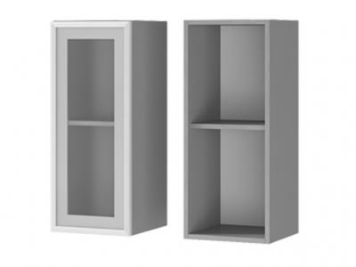 Шкаф настенный 1-дверный со стеклом 300х720х310 3В2 БТС МДФ