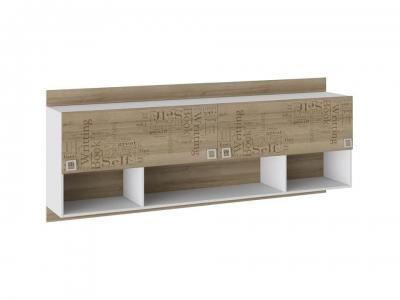 Шкаф настенный Оксфорд ТД-139.12.21 Ривьера, Белый с рисунком