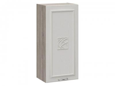 Шкаф навесной c декором В_96-45_1ДР(Д) Сабрина