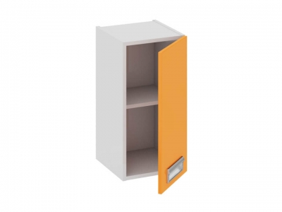 Шкаф навесной правый В_60-30_1ДР(Б) Бьюти Оранж