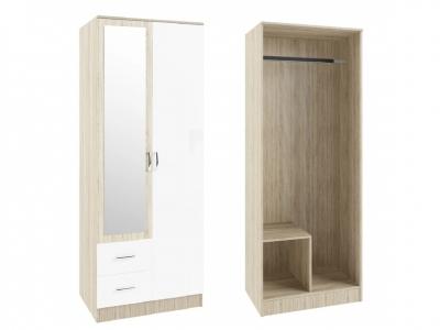 Шкаф Софи СШК800.3 двухдверный 2 ящика