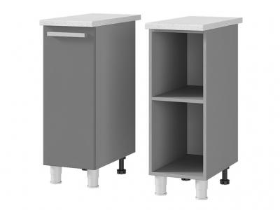 Шкаф-стол рабочий 1-дверный 300х820х600 3Р1 БТС МДФ