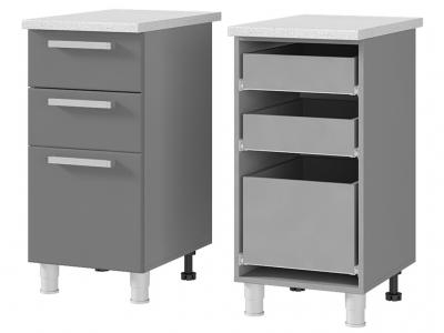 Шкаф-стол с 3-мя ящиками 400х820х600 4Р3 БТС МДФ