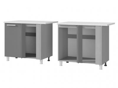 Шкаф-стол угловой 1000х820х600 10УР2 БТС МДФ