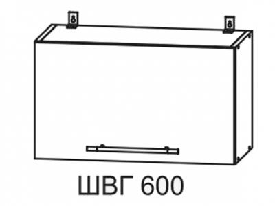 Шкаф верхний 600мм горизонтальный ПГ 350х600мм МДФ сандал Империя