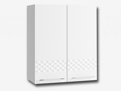 Шкаф верхний 600мм П 700х600мм МДФ белый Капля