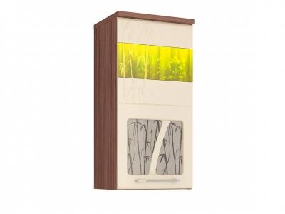 Шкаф-витрина лев-прав 17.04 Тропикана 400х320х830