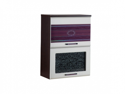 Шкаф-витрина плавное закрывание 08.80 Палермо 600х320х830