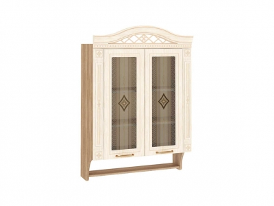Шкаф-витрина с колоннами 73.15 Шарлотта 800х320х1170