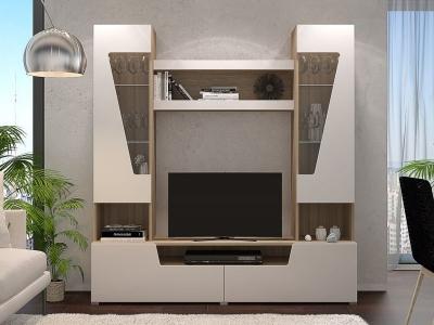 Гостиная Анталия 2 Сонома-Белый софт
