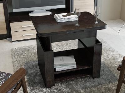 Журнальный столик-трансформер тип 5 Венге Цаво