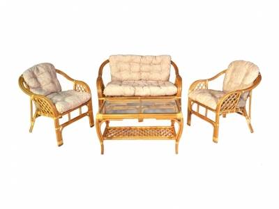 Комплект Маркос с диваном мед