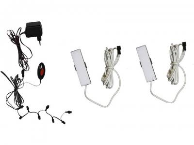 Комплект светодиодной подсветки ПСТ с 2 светильниками
