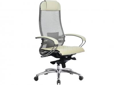Компьютерное кресло Samurai S-1.04 бежевый с ковриком СSm-10