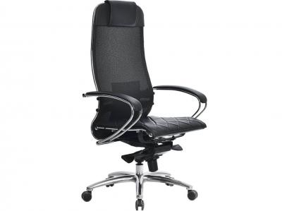 Компьютерное кресло Samurai S-1.04 черный плюс с ковриком СSm-10