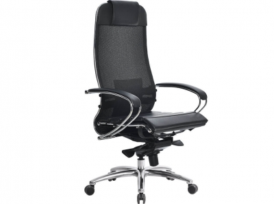 Компьютерное кресло Samurai S-1.04 черный плюс с ковриком СSm-25