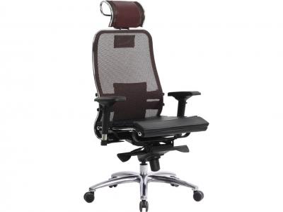 Компьютерное кресло Samurai S-3.04 темно-бордовый с ковриком СSm-25