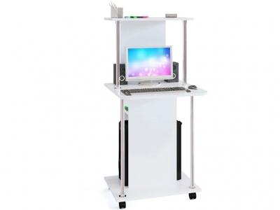 Компьютерный стол Сокол КСТ-12 Белый