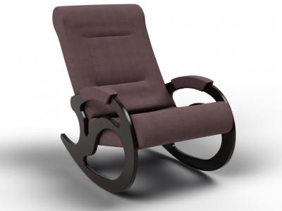 Кресло-качалка Вилла кофе с молоком