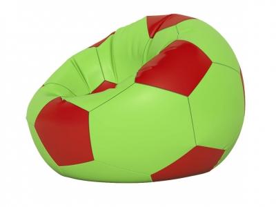 Кресло-мешок Мяч малый нейлон салатовый-красный