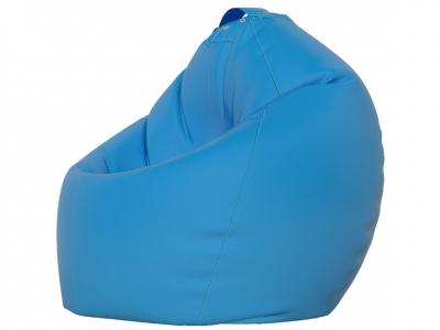 Кресло-мешок XXL нейлон голубой