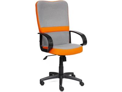 Кресло СH757 ткань Серый + Оранжевый (с27/с23)