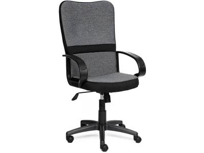 Кресло СН757 ткань Серый - Чёрный